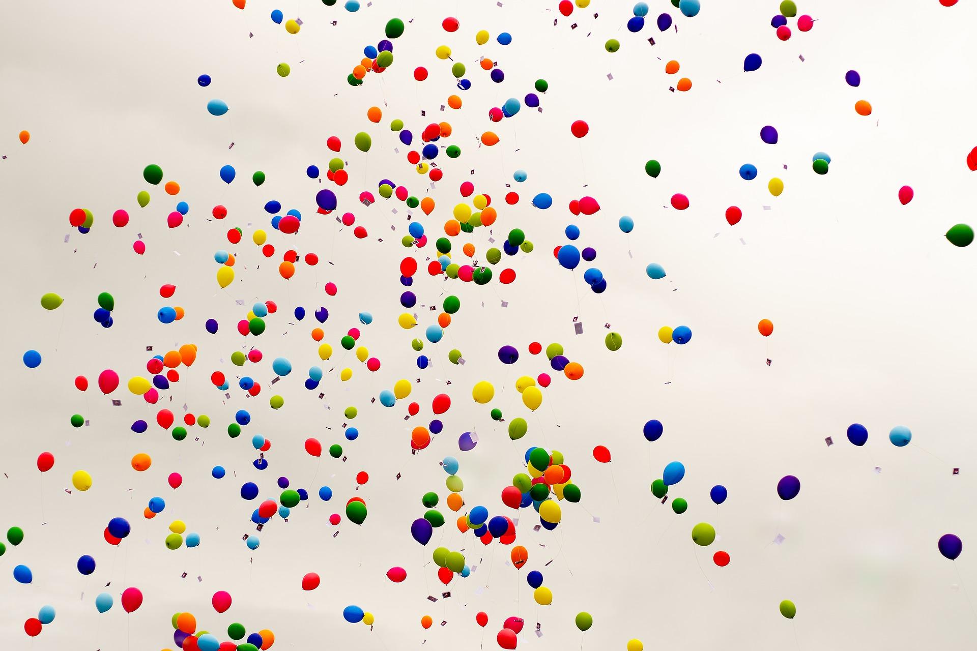 Biologisch afbreekbare ballonnen