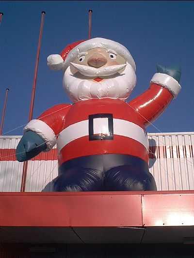 Kerstman publiekstrekker