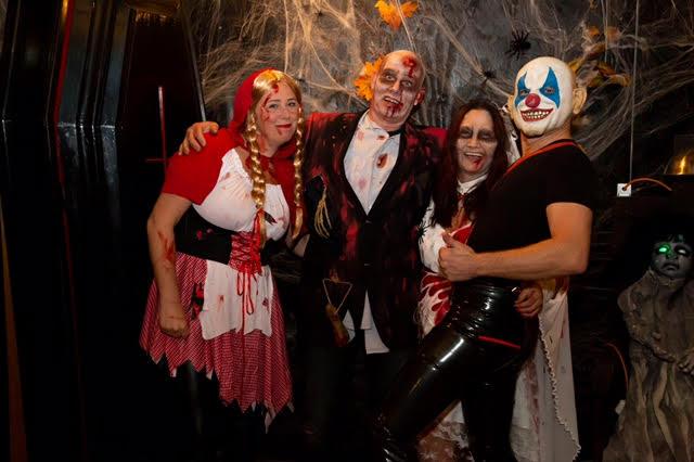 Halloween feest bij Heesbeen